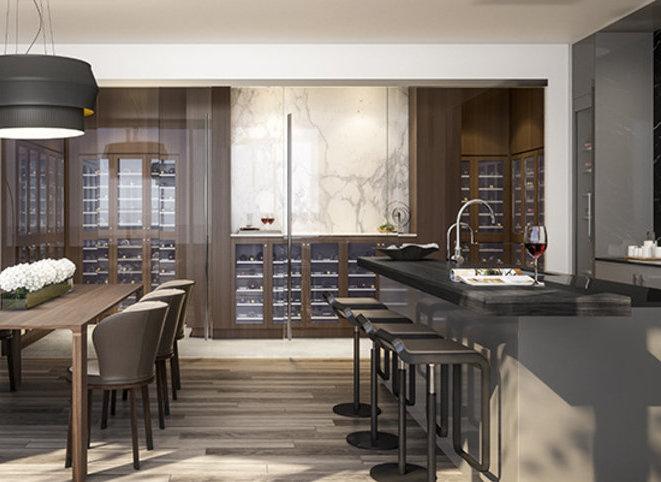 Display Suite Dining Room / Kitchen!