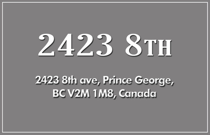 Central 2423 8TH V2M 1M8