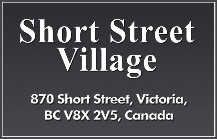 Short Street Village 870 Short V8X 2V5