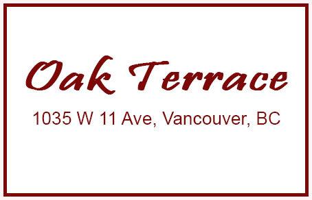 Oak Terrace 1035 11TH V6H 1K2