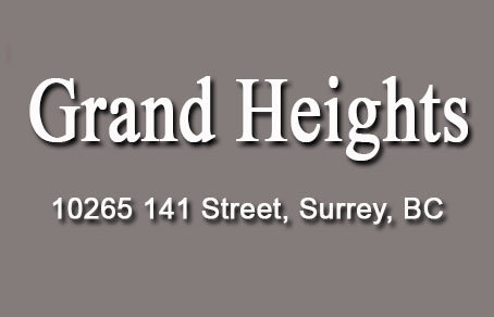 Grand Heights 10265 141ST V3T 4P9