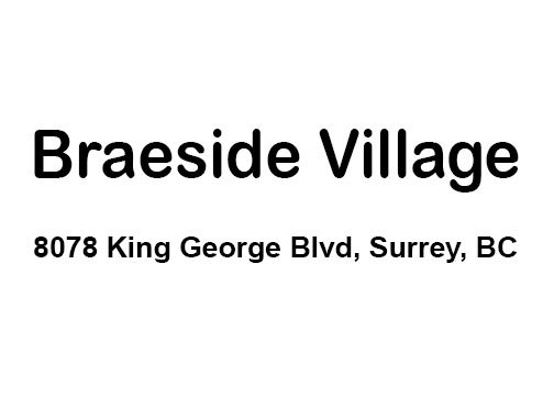 Braeside Village 8078 KING GEORGE V3W 5B5