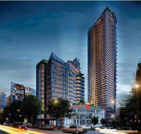 One Burrard Place With Dealership!