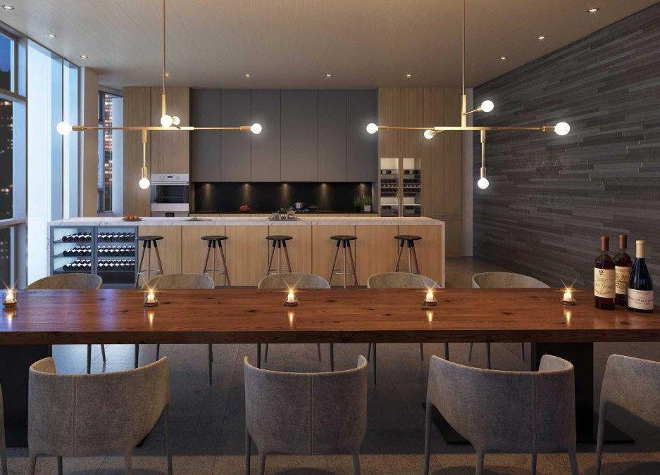 One Burrard Place Amenity Wine Room!