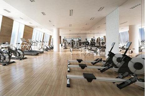One Burrard Place Amenity Gym!
