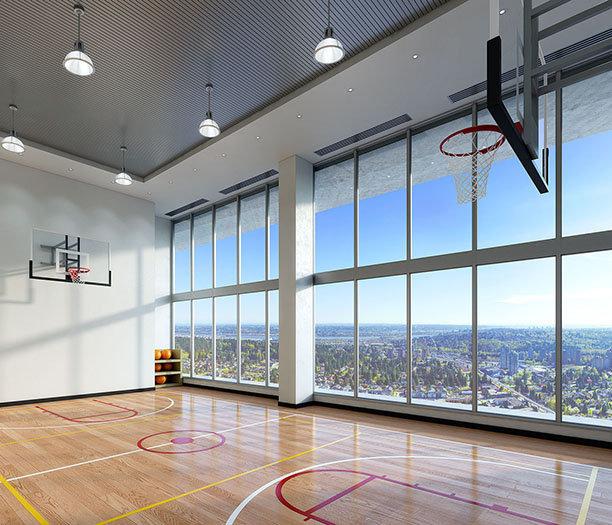 567 Clarke Road, Coquitlam, BC V3J 3X4, Canada Basketball Court!