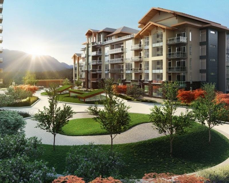 The Residence at Lynn Valley Court Yard!