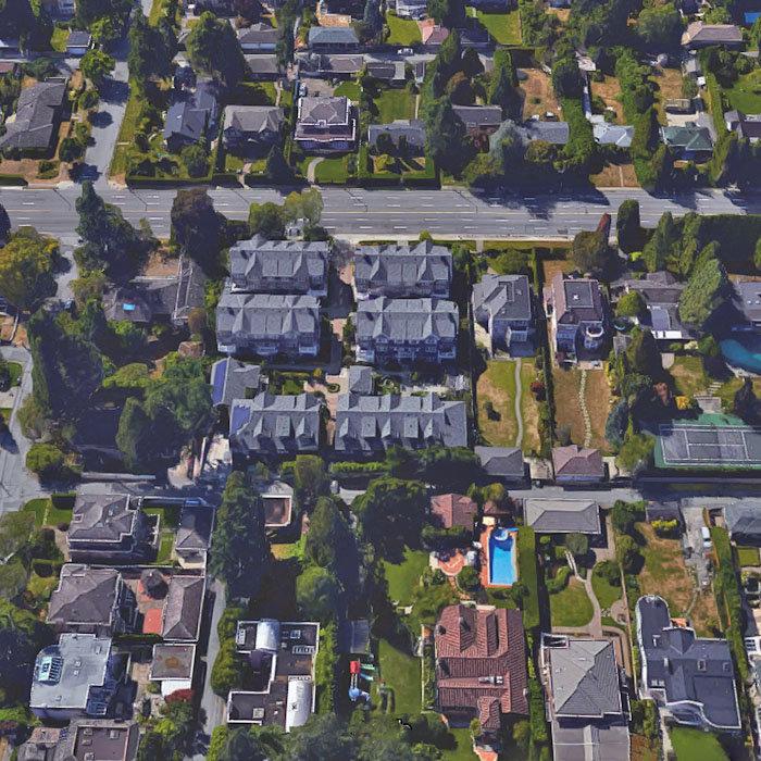 6738 Granville St, Vancouver, BC V6P 4X2, Canada Aerial!
