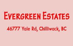 Evergreen Estates 46777 YALE V2P 2S3