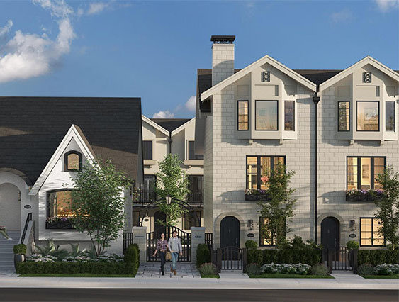 Townhouse & Character House Exterior!
