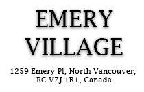 Emery Village 1259 Emery V7J 1R1