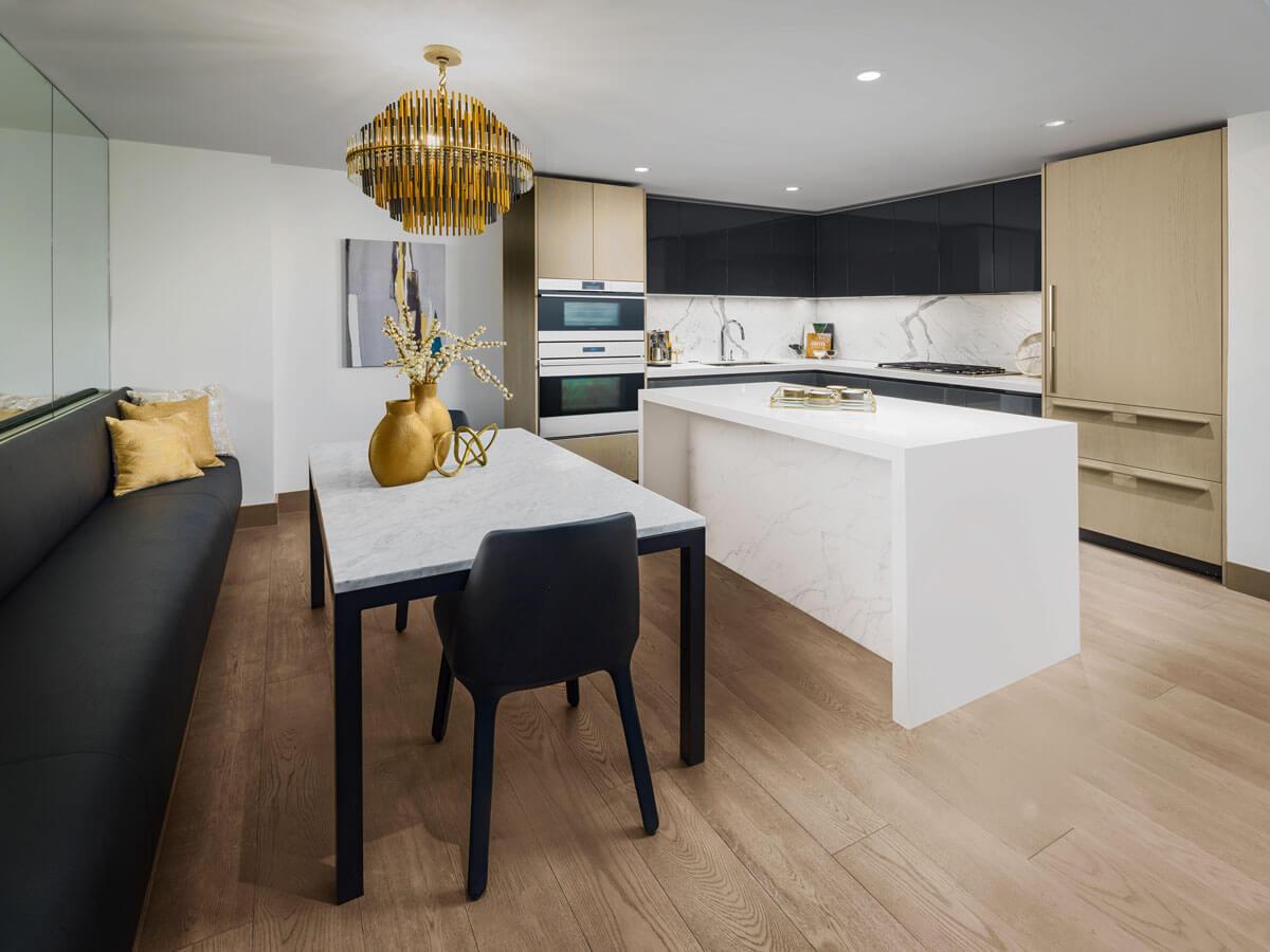 Kitchen & Dining Area!