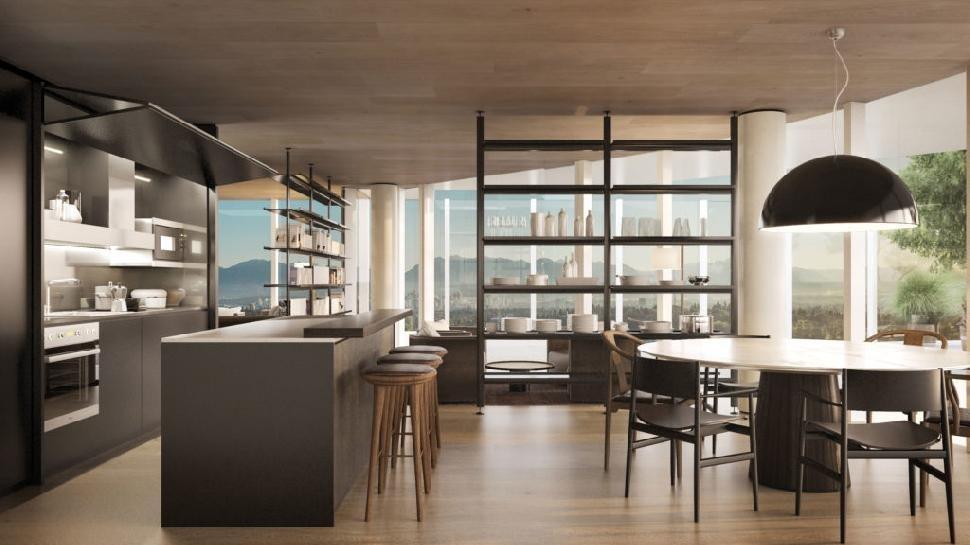 Communal Kitchen Seventh Floor!