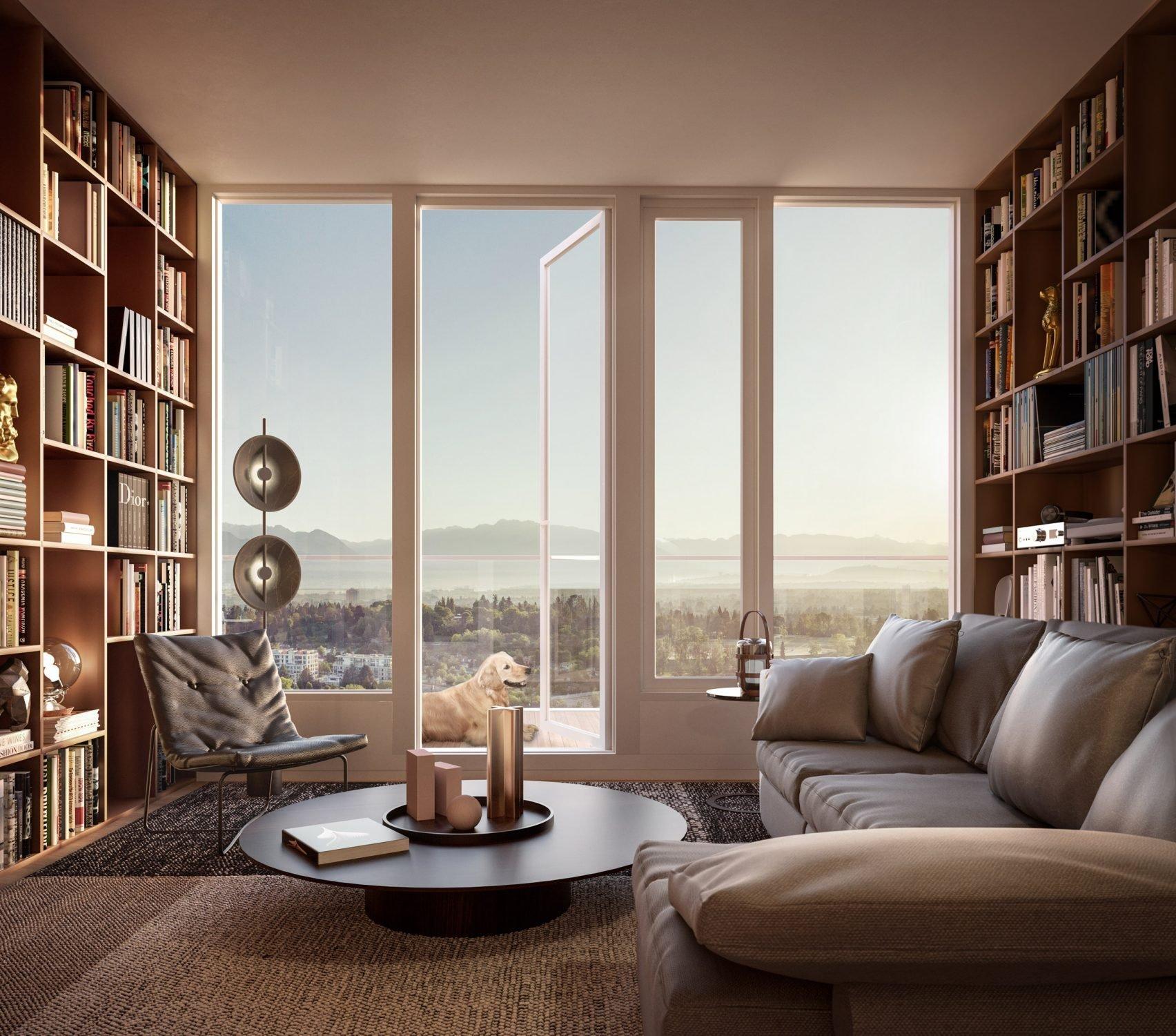 Seventh Floor Library!