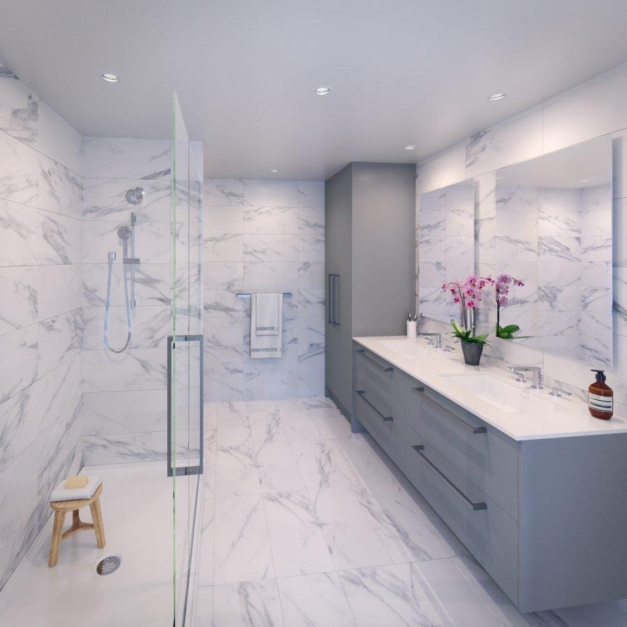 Bathroom - 2485 Larch St, Vancouver West, BC V6R 2B1, Canada!
