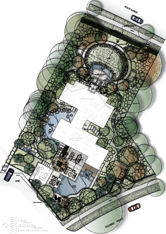 1233 Techumseh Site Plan