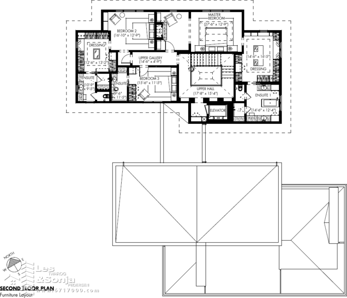 1233 Techumseh 2nd Flr Plan