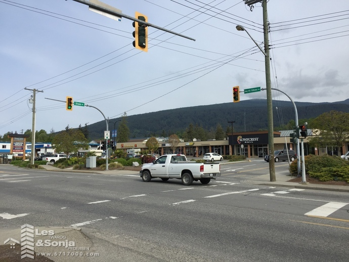 Gibsons Way and Shaw Road Gibsons
